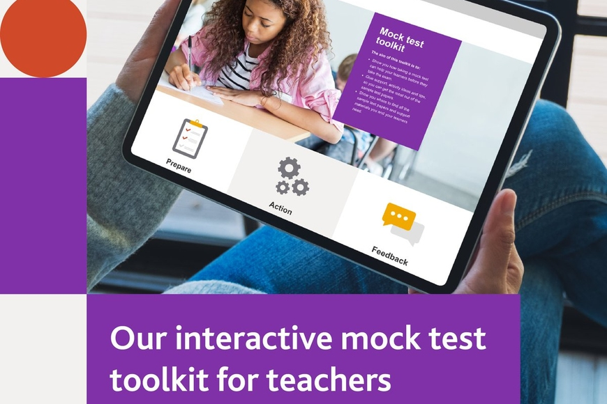 Interactive mock test for teachers