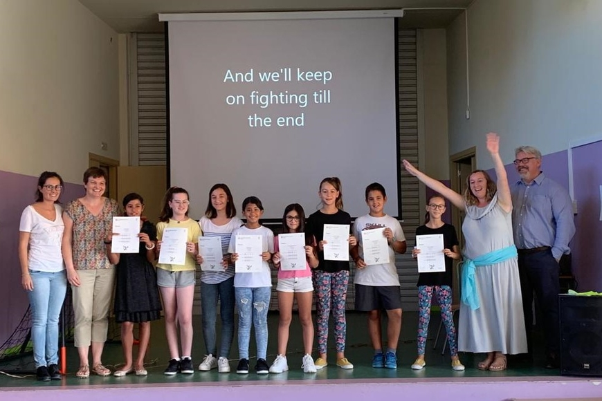 Certificate ceremonies in our centres